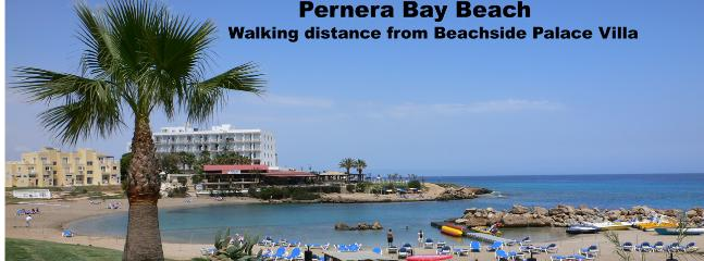 Pernera Bay Beach - walking distance.