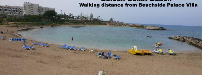 Golden Coast Beach - walking distance