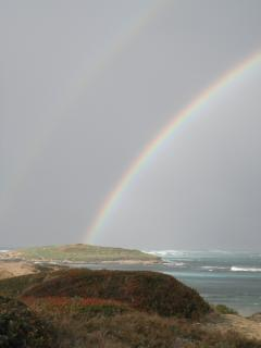 love the double rainbow, though not that clear in picture