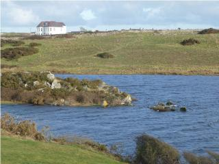 The house from Maelog Lake