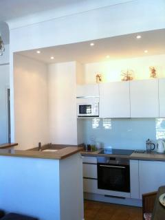 Stylish, fully equipped new kitchen