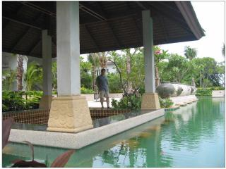 The second of 2 beautiful pools available for guests to enjoy.