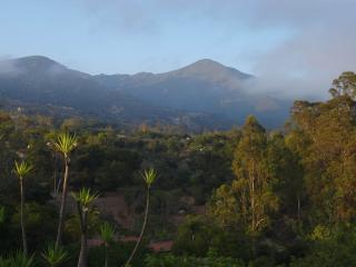 Montecito Peak - view from property