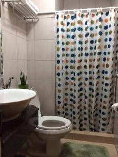 Equipped with Hot & Cold shower and hand bidet