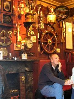 Real Ales at Ship Inn Seahouses a must!