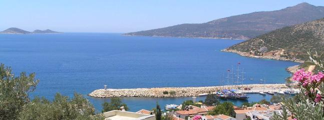 Kalkans harbour & bay beyond
