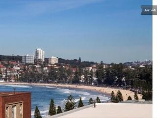 Manly Beach Pad with fabulous views, Varonil