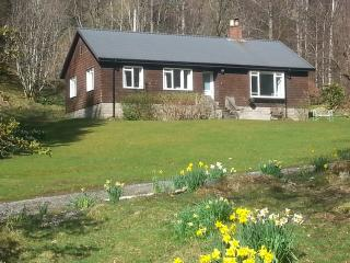 Bungalow in private setting near Aberfeldy