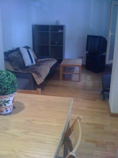 LIVING ROOM with big and comfortable sofa to enjoy a good movie, a big table to enjoy good meals and