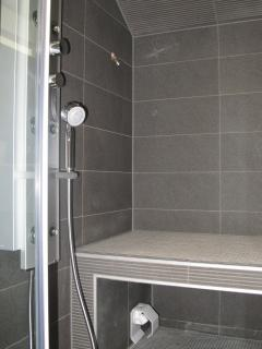 Steam room with Power Shower