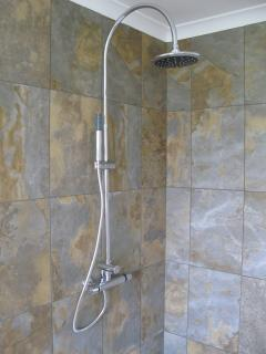 En suite shower