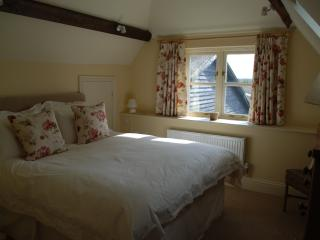 Main Bedroom with southerly views over farmland