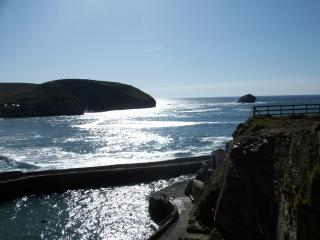 Portreath Harbour 4 miles away