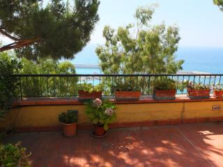 Wonderful terrace over the sea, Ventimiglia