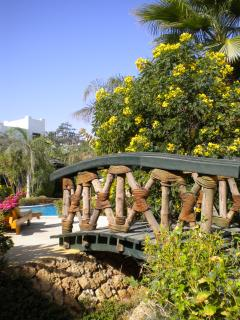 Landscaped gardens make up 70% of the resort