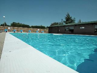Our Heated Outdoor pool and Sun Terrace in the summer