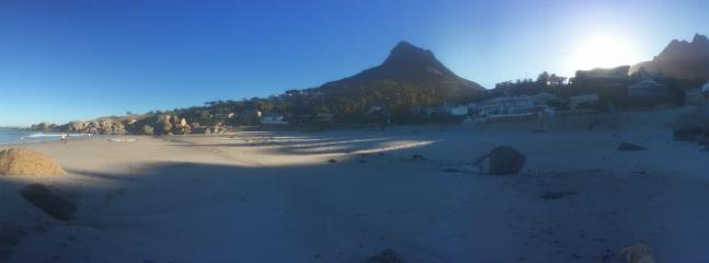 Glen Beach Early morning  - lions head view