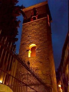10th century minaret next to the apartment, the bell only rings once a day