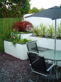 Courtyard Garden - a real suntrap