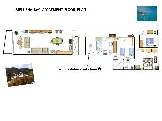 Apartment Plan  - area of 154 sq.m.