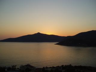 Komurluk, Kalkan has some of the best sunsets in all of the Mediterranean.  This is one of ours.