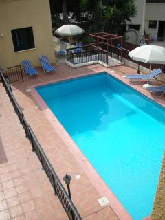 Swimming Pool with loungers