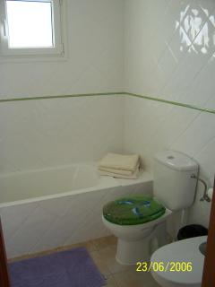 Main Bathroom (bath with shower over) - there is also an en-suite bathroom
