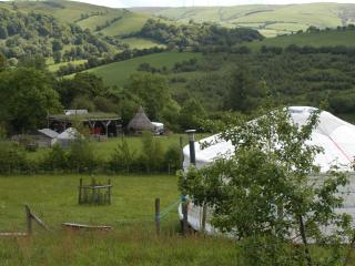 Blue yurt, Llanidloes