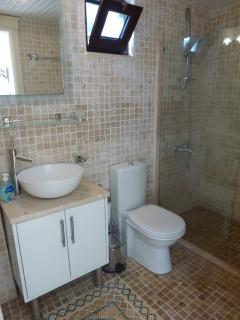 Ensuite shower room from Master Bedroom