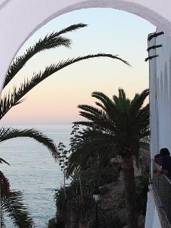 Entrada Playa Calahonda