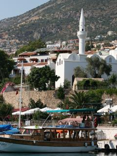 The Mosque near the harbour