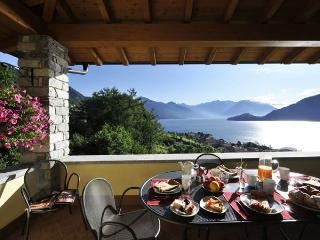 Enjoy Breathtaking Views from Casa Adelina, Pianello del Lario