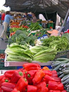 Buy great food at local markets - the air is full of fantastic aromas