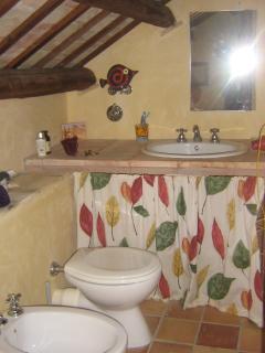 Piccolo bagno in mansarda