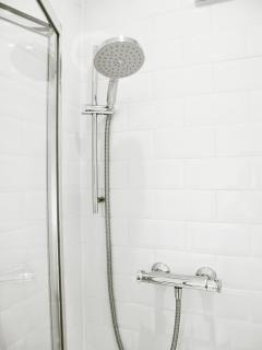 New Power Shower with big shower head