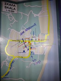 MAP OF APARTMENTS