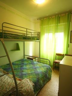 New green apple's bedroom