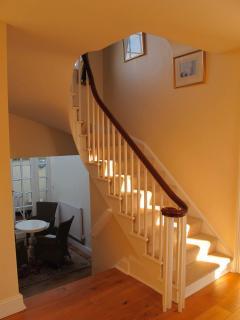 The elegant 1830,s staircase