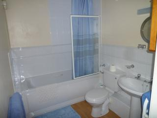 Bathroom with Bath, Shower, Basin, Toilet & cabinet