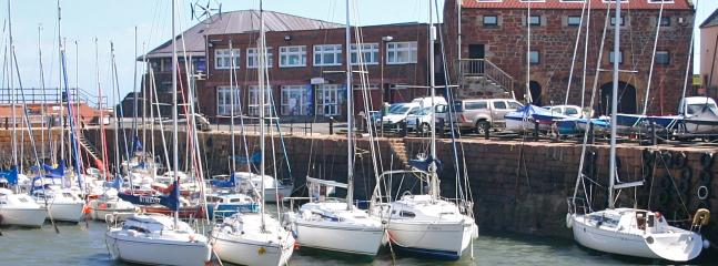 the old harbour and Seabird Centre