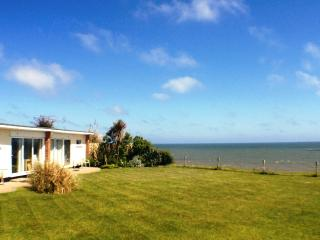 Your stunning beachside location with superb sea views.