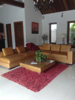 The oversized sofa