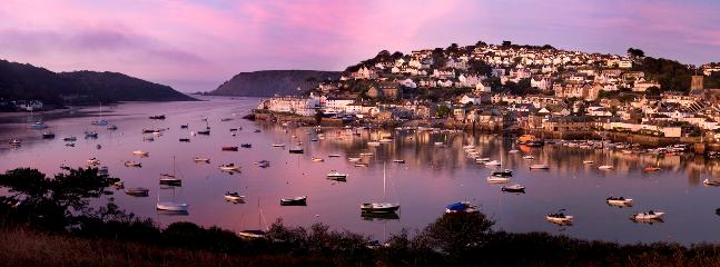 Salcombe at twilight - just 2 miles from Hope Thatch and now we have a great cycle path to get there