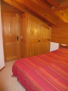 Upstairs bedroom view 2