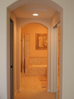 Master Bathroom Hallway