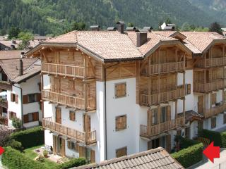 Bright Apartment with private garden - apt n.1, Pinzolo