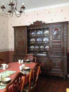 Guest dining room, continental breakfast is served each morning.