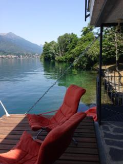 "Exquisite waterfront Lake Orta Villa ""Boomerang"""