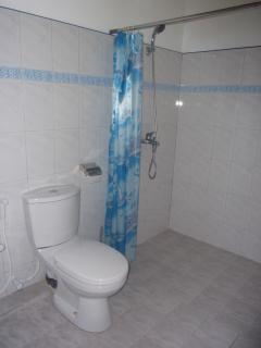 the bath room upstairs