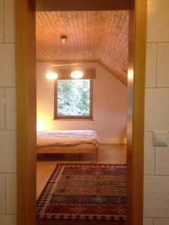 Section of the quad bedroom taken from its ensuite.